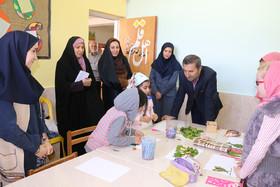 بازدید مدیرکل کانون استان از مراکز فرهنگیهنری دامغان