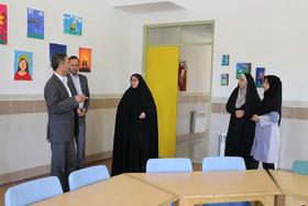 گزارش تصویری بازدید مدیرکل کانون پرورش فکری سمنان از مراکز فرهنگیهنری حوزهی غرب استان