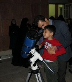 روز جهانی نجوم در مرکز نجوم دماوند کانون استان تهران