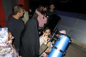 شب رصدی در مرکز نجوم دماوند برگزار شد
