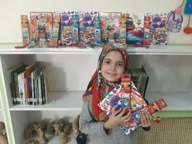 پیام همدلی کودکان مرکز ۴۲ کانون تهران به کودکان سیلزده رسید
