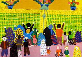 "Iranian Children's Paintings from ""In My Homeland"" Selected in Belarus International Competition"