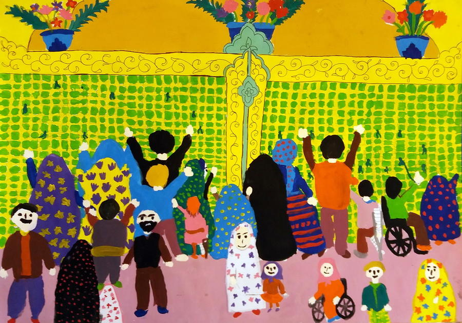 """Iranian Children's Paintings from """"In My Homeland"""" Selected in Belarus International Competition"""