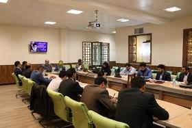 اولین کمیسیون منطقه ای مسئولین حراست کانون با میزبانی اداره کل کانون استان کرمان برگزار شد