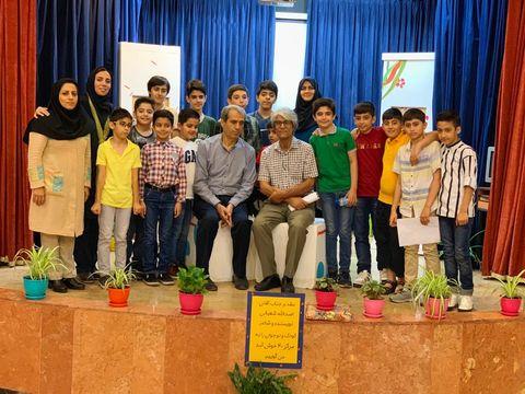 مهمان تابستان مرکز شماره 40 کانون تهران
