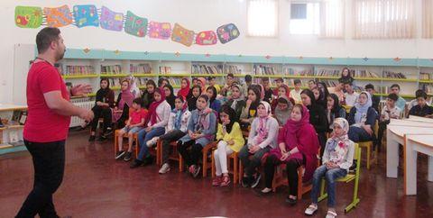 مراسم جشن تابستان مرکز شماره 2 کانون تهران