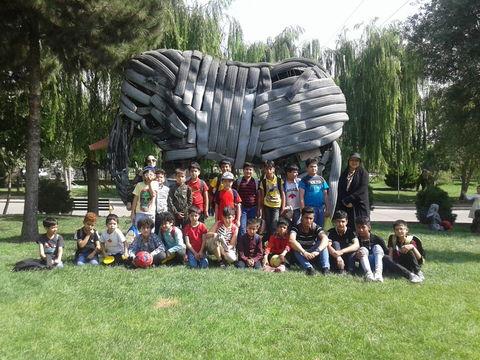 مراسم جشن تابستان مرکز شهر قدس کانون تهران