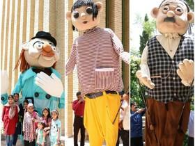 شادپیمایی عروسکهای غولپیکر در کرمان برگزار می شود