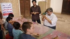 حضور کانون پرورش فکری یزد، در نمازجمعه – مسجدملااسماعیل- مرداد۹۸