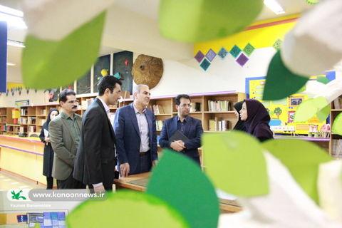 بازدید نعمت الله ترکی رییس سازمان مدیریت و برنامه ریزی استان تهران از مرکز شماره ۴۳ کانون استان تهران