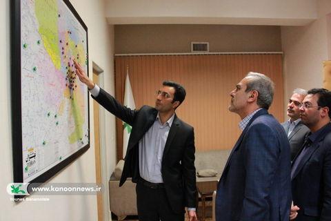 بازدید نعمت الله ترکی رییس سازمان مدیریت و برنامه ریزی استان تهران از ستاد کانون استان تهران