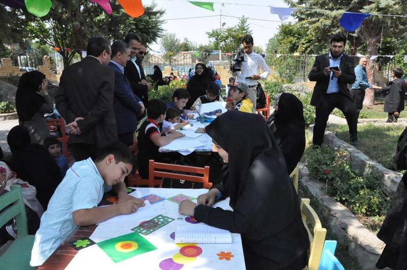 مسابقه نقاشی با موضوع «شهری که من دوست دارم»