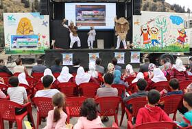 سفر پیک امید و تماشاخانه سیار کانون به شهرستان رودبار