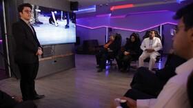 بازدید ازباشگاه ورزشهای الکترونیک ایستگاه بازی یزد