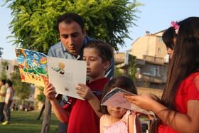 هفته پنجم «پویش فصل گرم کتاب» در پارک قائم «شهیدحضرت پور» ارومیه