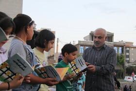 هفته ششم «پویش فصل گرم کتاب» در پارک قائم ارومیه