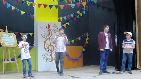 گزارش تصویری برگزاری سومین جشنواره استانی آوازهای کودکانه