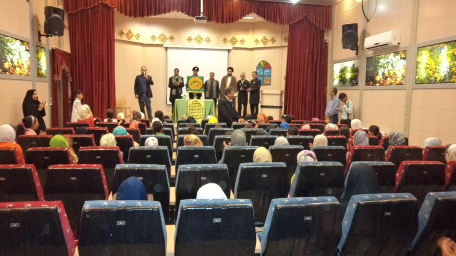 حضور خادمین حرم امام رضا (ع) در کانون شماره 2 طبس