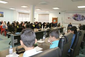 برگزاری کارگاه آموزشی سرود در کانون پرورش فکری سمنان به قلم دوربین