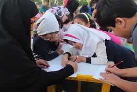 هفته هفتم پویش فصل گرم کتاب در پارک حضرت قائم (عج) ارومیه