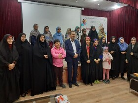 جشن قصهگویی مراکز کانون پرورش فکری میبد، برگزارشد
