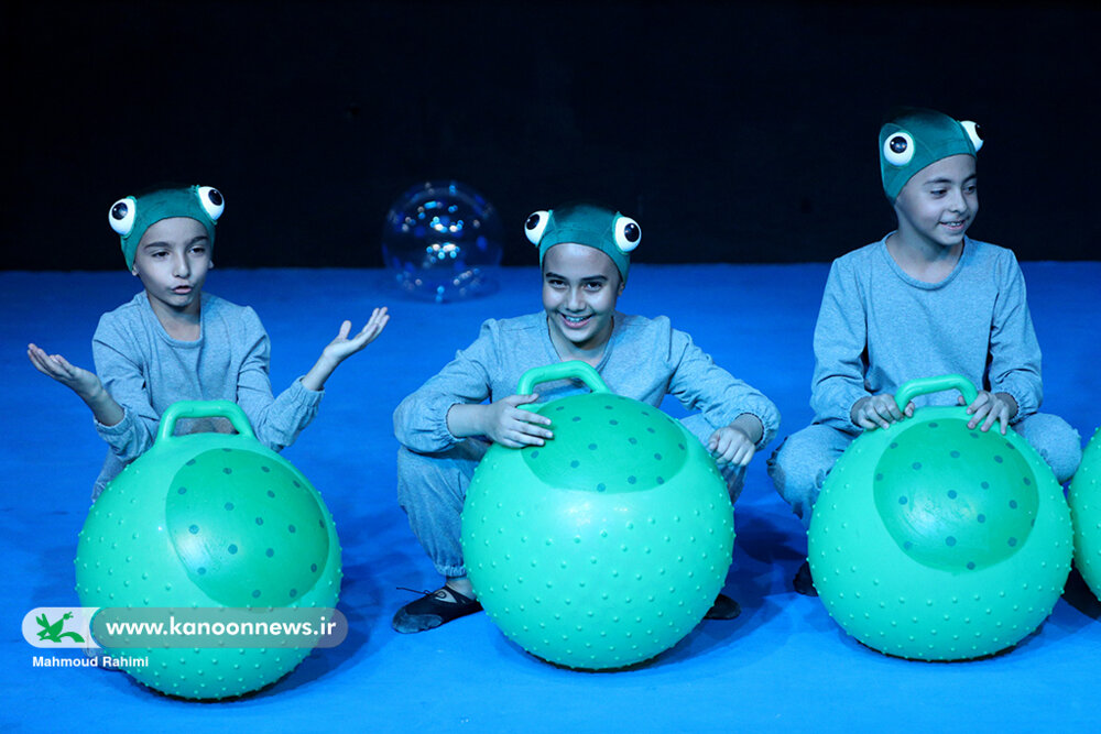 Performing «Houshang, the Turtle» at the kanoon Theater Center