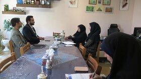 نشست مدیرکل کانون قزوین با رییس سازمان جهاد دانشگاهی استان