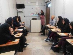 حضور اعضای انجمن قصهگویی کرمان در مراکز کانون زبان ایران