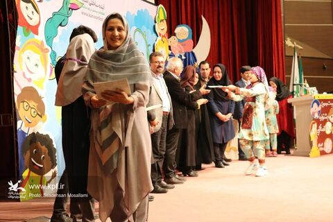 آیین اختتامیه مرحله استانی بیست و دومین جشنواره بین المللی قصه گویی گلستان