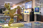 نمایش گنجینهی موزهی کودک کانون در دانشگاه تهران