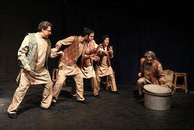 """Performing """"Tales of Adventurous Noah's Ark Journey"""" at Kanoon Theater Center"""
