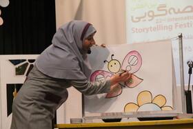 خوش درخشی مربیان قصهگوی کانون قزوین
