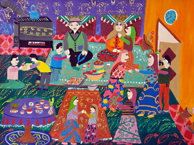 Iranian Children are Winners of Japan Environment Drawing Competition