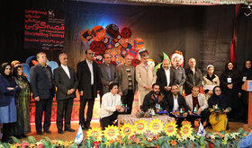 درخشش دو مربی کانون استان همدان در بیستودومین جشنواره بینالمللی قصهگویی منطقه دو کشور