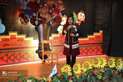 قصه گویان بیست ودومین جشنواره منطقه2کشور درخرم آباد