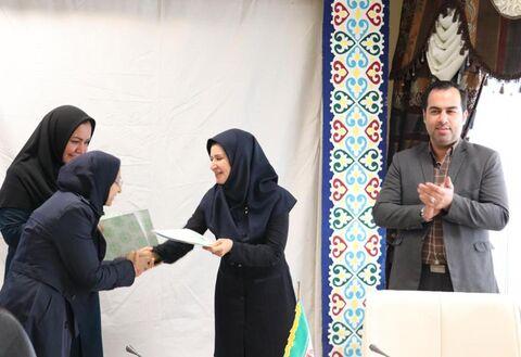 تقدیر از عوامل اجرایی بیست و دومین جشنواره بین المللی قصه گویی منطقه پنج کشور در گلستان