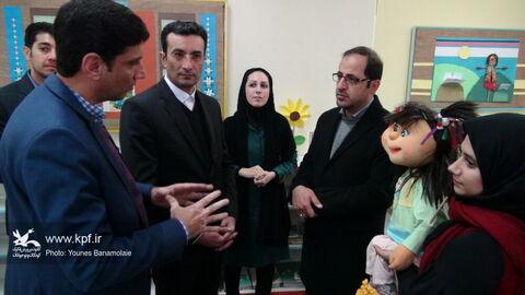 بازدید مدیر عامل از مراکز کانون استان تهران/عکس: یونس بنامولایی