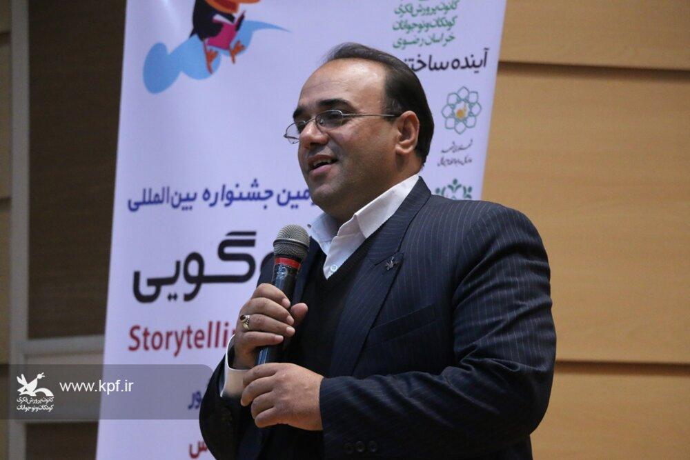 قصهگوی خراسانرضوی به مرحله پایانی جشنواره بینالمللی قصهگویی راه یافت