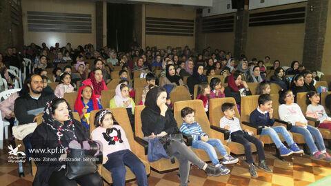 استقبال از اجرای نمایش«هیس!ما یه نقشه داریم» در مجتمع کانون استان قزوین
