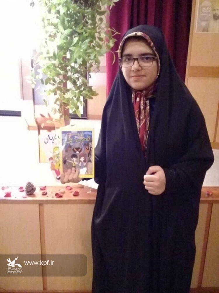 عضو فعال کتابخانه سیار روستایی هیدج کانون زنجان تقدیر شد