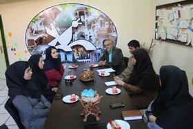حضور بخش مکاتبهای آفرینشهای ادبی کانون فارس در میان کودکان عشایر