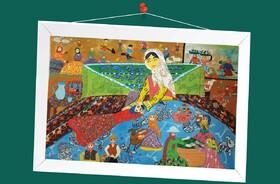 کسب نشان برنز و لوح تقدیر عضو کانون پارسآباد از مسابقه نقاشی«هیکاری» ژاپن