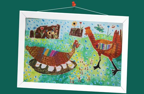 هلیا کریمی 8 ساله از مرکز فرهنگی هنری شماره 3 کانون شیراز