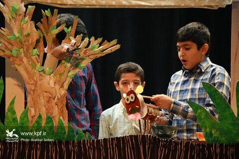 روز دوم جشنواره هنرهای نمایشی کانون کرمان
