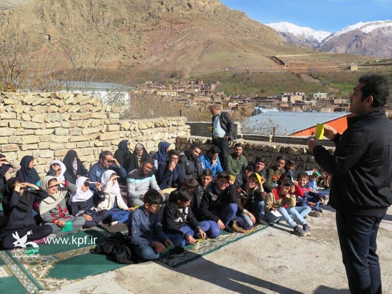 سومین اجرای طرح پیک امید در کانون استان قزوین