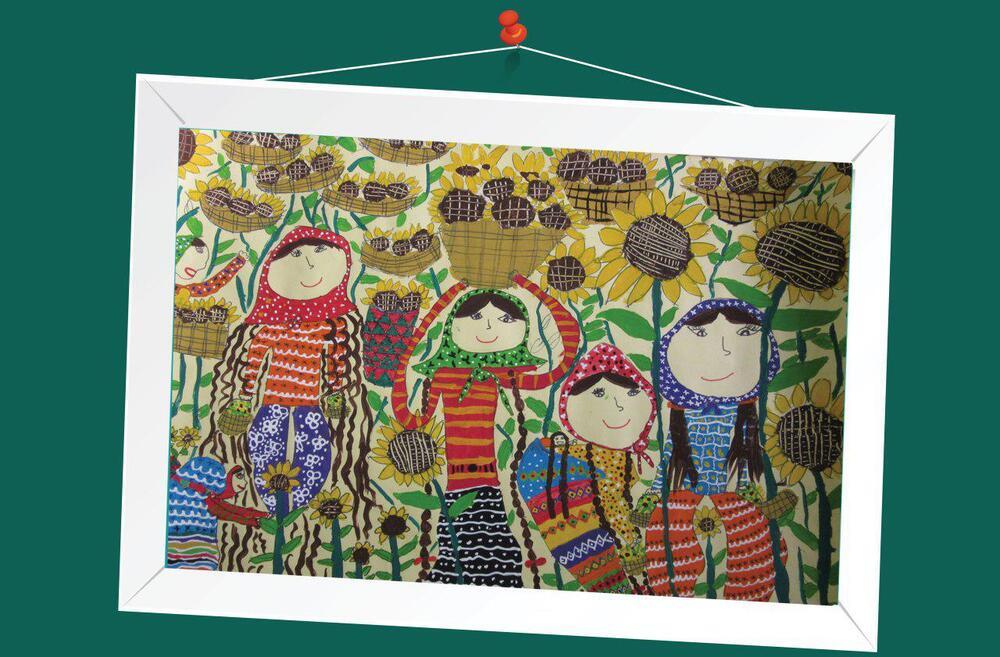 کسب نشان طلایی مسابقه نقاشی هیکاری ژاپن توسط عضو هنرمند کانون پرورش فکری استان کرمانشاه