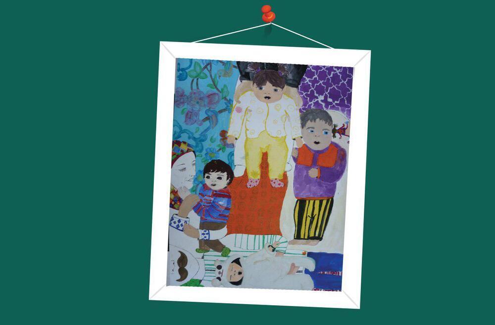 درخشش اعضا کانون خوزستان در مسابقه نقاشی ژاپن