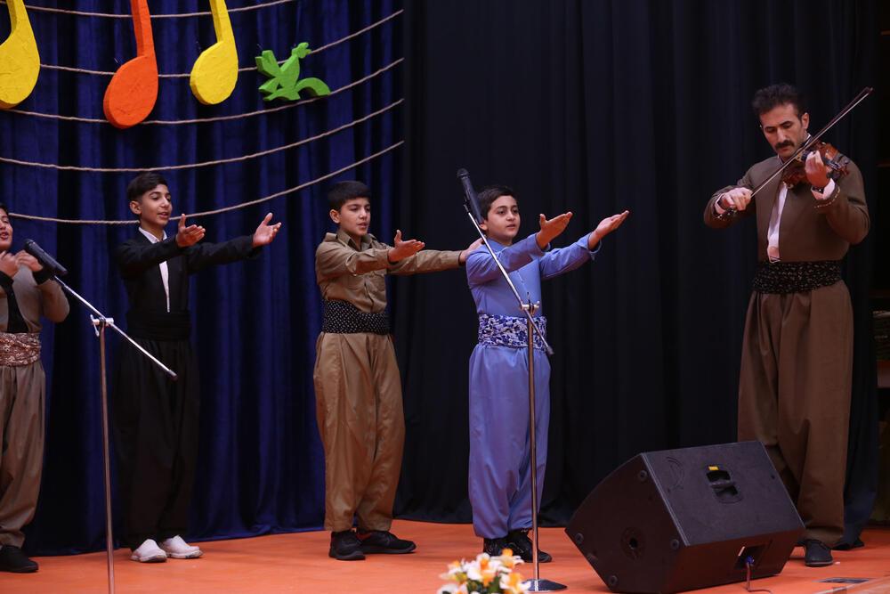 نخستین مهرواره استانی سرود آفرینش در سنندج برگزار شد