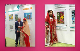 Presenting Environment Award to Two Kanoon Members in Tokyo
