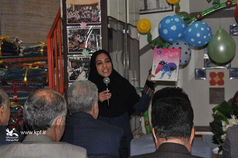 حضور معاون و جمعی از همکاران کانون البرز در مراسم گرامی داشت روز معلولان